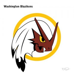 Redskins pokemon