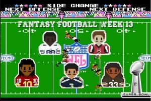 fantasy football semana 13